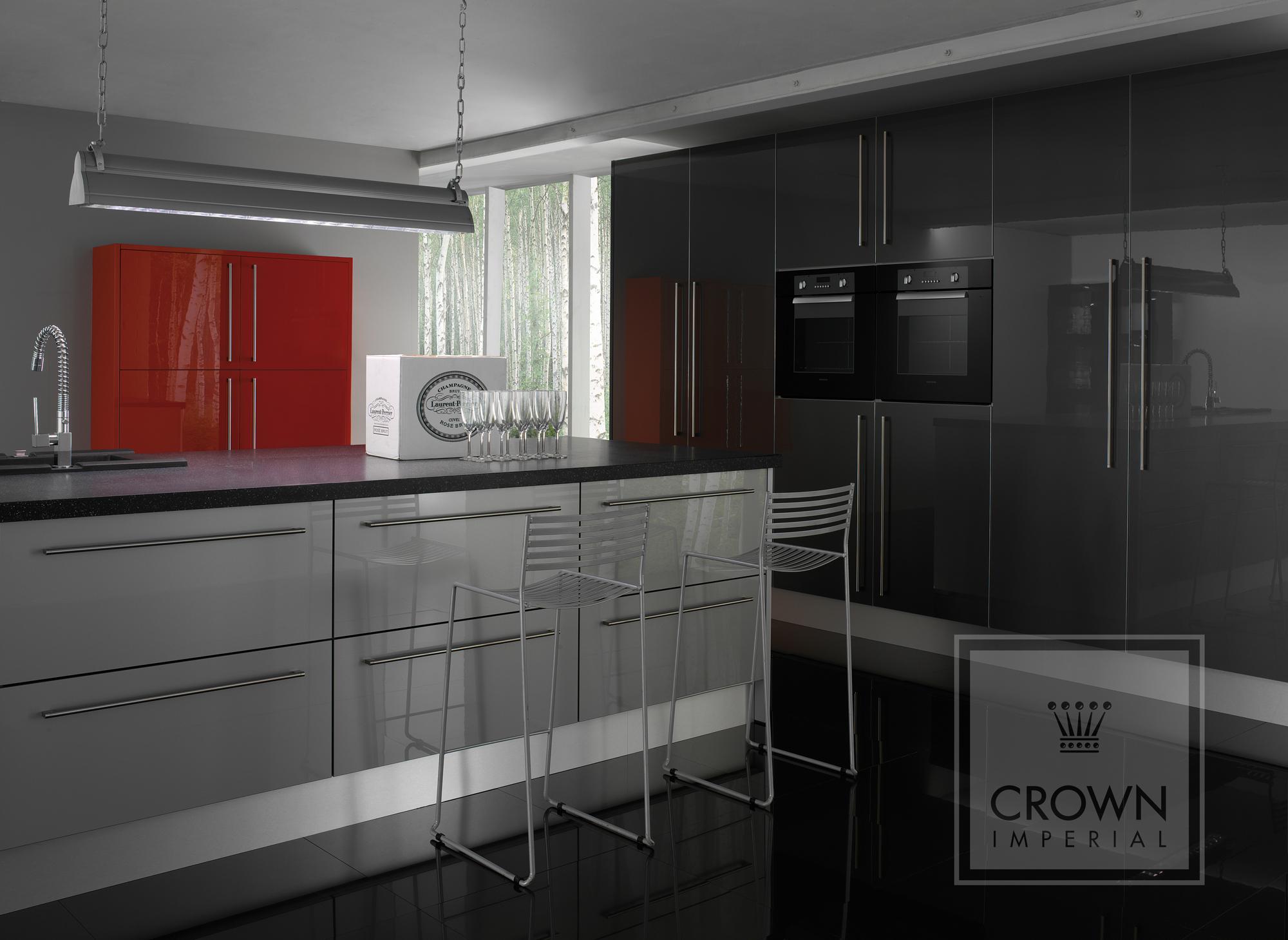 High Gloss Kitchen Doors Portfolio Chislehurst Kitchens